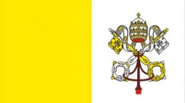 Ватикан флаг
